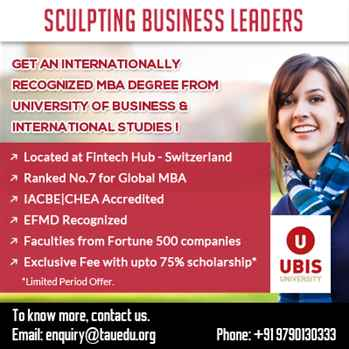 International Swiss MBA program